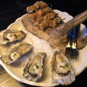 Oysters and King Fish